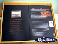 Winton Waltzing Matilda Centre Informative Book . . . CLICK TO ENLARGE