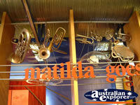 Musical Instrument Display at Winton Waltzing Matilda Centre . . . CLICK TO ENLARGE