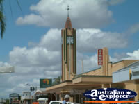 Goondiwindi Council Chambers Town Clock . . . CLICK TO ENLARGE