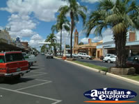 View Down Goondiwindi Main Street . . . CLICK TO ENLARGE