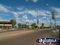 Sunny Cunnamulla Street . . . CLICK TO ENLARGE