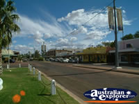 Quiet Cunnamulla Street . . . CLICK TO ENLARGE