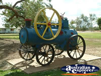 Cunnamulla Old Steam Engine in Park . . . CLICK TO ENLARGE
