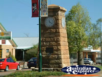 Blackall Town Clock . . . CLICK TO ENLARGE