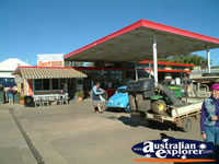 Central Star Service Station in Blackall . . . CLICK TO ENLARGE