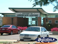 Longreach Airport Entrance . . . CLICK TO ENLARGE