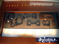 Longreach Stockmans Hall of Fame Handcuffs . . . CLICK TO ENLARGE