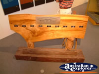 Longreach Stockmans Hall of Fame Wooden Display . . . CLICK TO ENLARGE