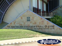 Longreach Stockmans Hall of Fame Entrance . . . CLICK TO ENLARGE