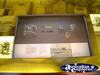 Stockmans Hall of Fame in Longreach Display Cabinet . . . CLICK TO ENLARGE