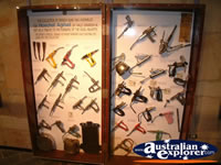 Longreach Stockmans Hall of Fame Tool Cabinet Display . . . CLICK TO ENLARGE