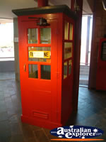 Longreach Stockmans Hall of Fame Phone Box . . . CLICK TO ENLARGE