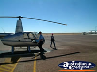 Longreach the Helicopter . . . CLICK TO ENLARGE