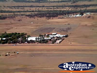 Longreach View of Buildings from Helicopter . . . CLICK TO ENLARGE