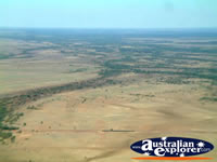 Helicopter's view of Longreach's Scenery . . . CLICK TO ENLARGE