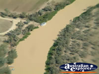 Longreach Scenery from Helicopter . . . CLICK TO ENLARGE