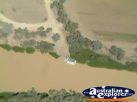 Longreach View of Muddy River from Helicopter . . . CLICK TO ENLARGE