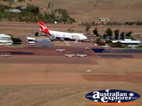 Longreach View of Plane from Helicopter . . . CLICK TO ENLARGE
