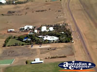Longreach Buidlings View from Helicopter . . . CLICK TO ENLARGE