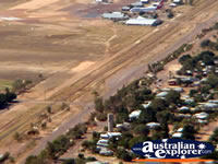 Longreach View of Helicopter Airport and Town . . . CLICK TO ENLARGE