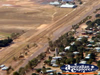 Longreach View from Helicopter Airport and  Town . . . CLICK TO ENLARGE