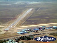 Longreach View of Helicopter Landing Strip and Town . . . CLICK TO ENLARGE