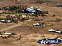 Longreach View from Helicopter Above Stockmans Hall of Fame . . . CLICK TO ENLARGE