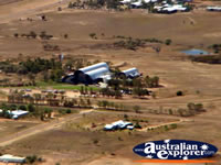 Longreach Birds Eye View from Helicopter Stockmans Hall of Fame . . . CLICK TO ENLARGE