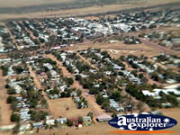 Longreach View Town Centre from Helicopter . . . CLICK TO ENLARGE