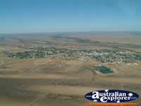 Longreach Town Birds Eye View from Helicopter . . . CLICK TO ENLARGE
