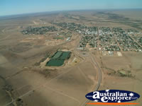 Longreach Landscape of Town from the Air . . . CLICK TO ENLARGE