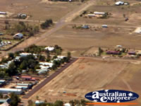 Longreach View of Longreach Town from Helicopter . . . CLICK TO ENLARGE
