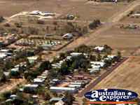 Longreach in QLD Town View from Helicopter . . . CLICK TO ENLARGE