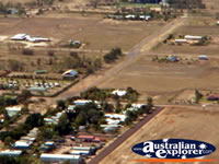 Longreach Town View from Helicopter . . . CLICK TO ENLARGE
