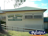 Tiaro Shire Council Chambers . . . CLICK TO ENLARGE