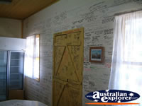 Kynuna Blue Heeler Hotel Wall with Writing . . . CLICK TO ENLARGE