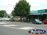 Maleny Street and Shops . . . CLICK TO ENLARGE