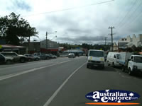 View Down Maleny Street . . . CLICK TO ENLARGE