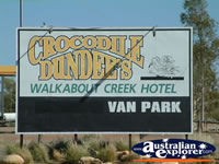 McKinlay Walkabout Creek Hotel Sign . . . CLICK TO ENLARGE