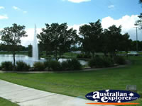 Fountain in the Park at Caboolture . . . CLICK TO ENLARGE
