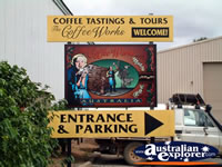 Mareeba Coffee Works Entrance . . . CLICK TO ENLARGE