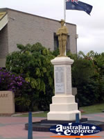War Memorial in Mareeba . . . CLICK TO ENLARGE