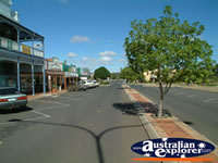 Wondai Street and Shops . . . CLICK TO ENLARGE