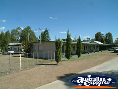 MOBILE PARK CARAVAN PARK IN CHINCHILLA PHOTOGRAPH MOBILE