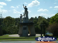 Gympie Park Statue Before Town . . . CLICK TO ENLARGE
