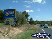 Road Into Gympie . . . CLICK TO ENLARGE