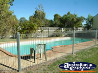 Barcaldine Ironbark Inn Swimming Pool . . . CLICK TO ENLARGE