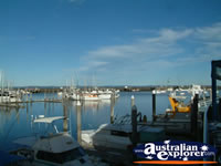 Hervey Bay Boat Harbour . . . CLICK TO ENLARGE