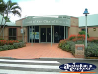 Entrance of Hervey Bay Shire Council . . . CLICK TO ENLARGE