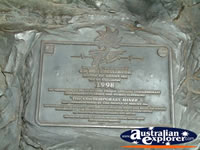 Mt Isa Plaque for Contemporary Miner . . . CLICK TO ENLARGE